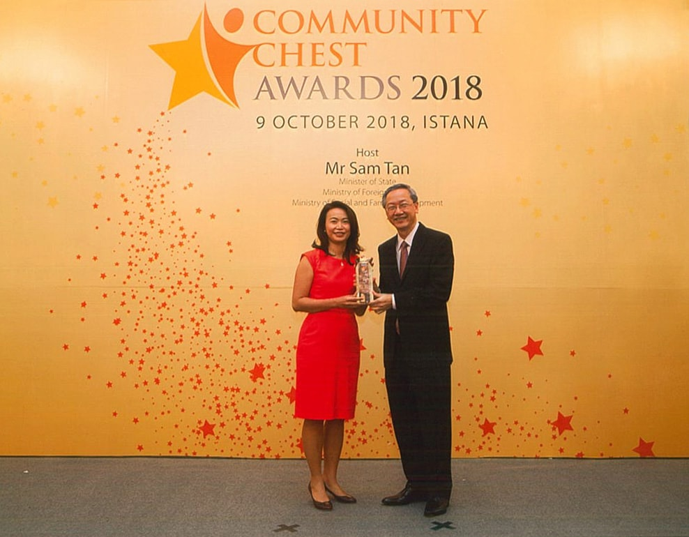 Community Chest Award 2018