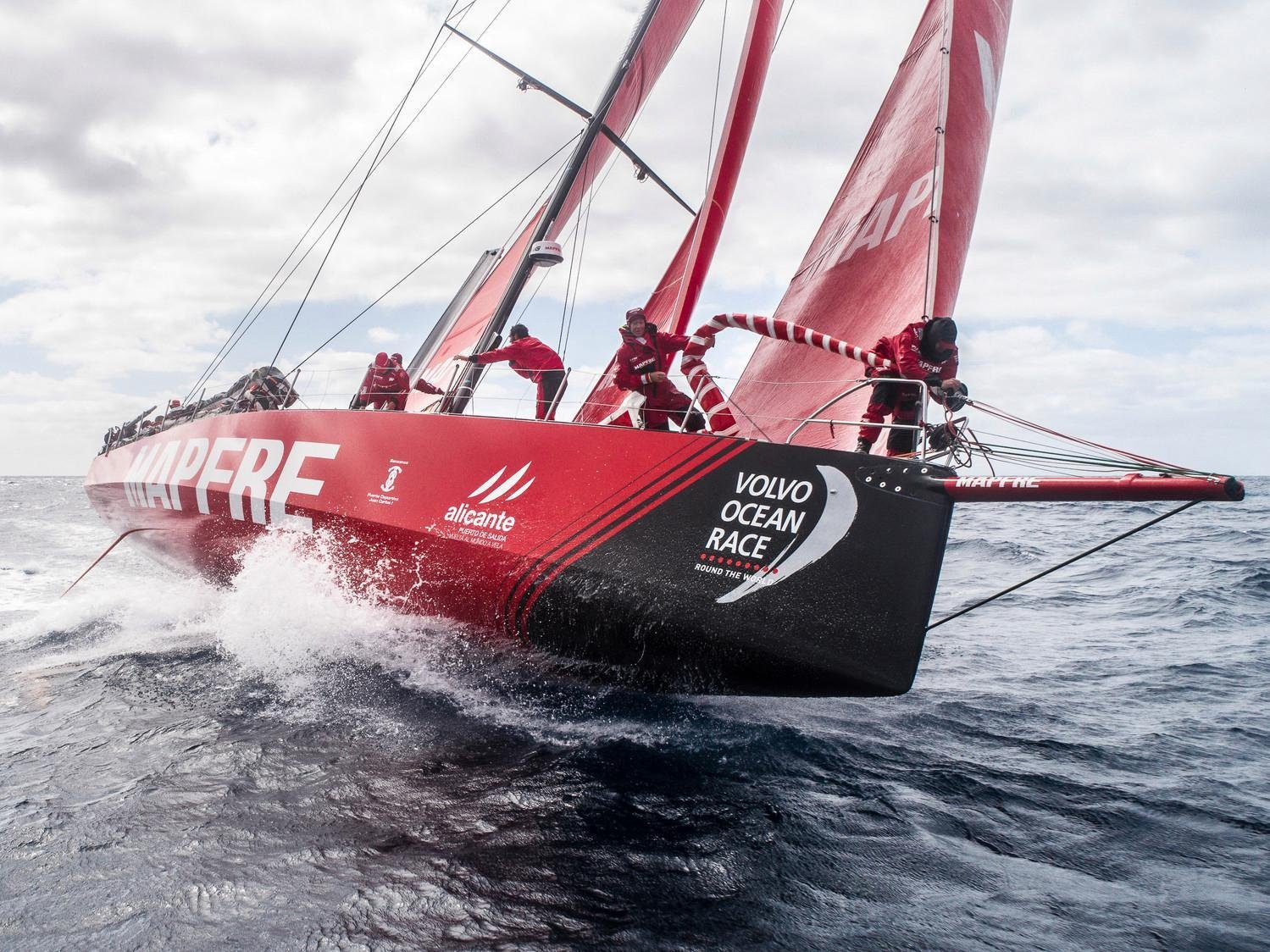 Supporting Let's Do it Global Volvo Ocean Race